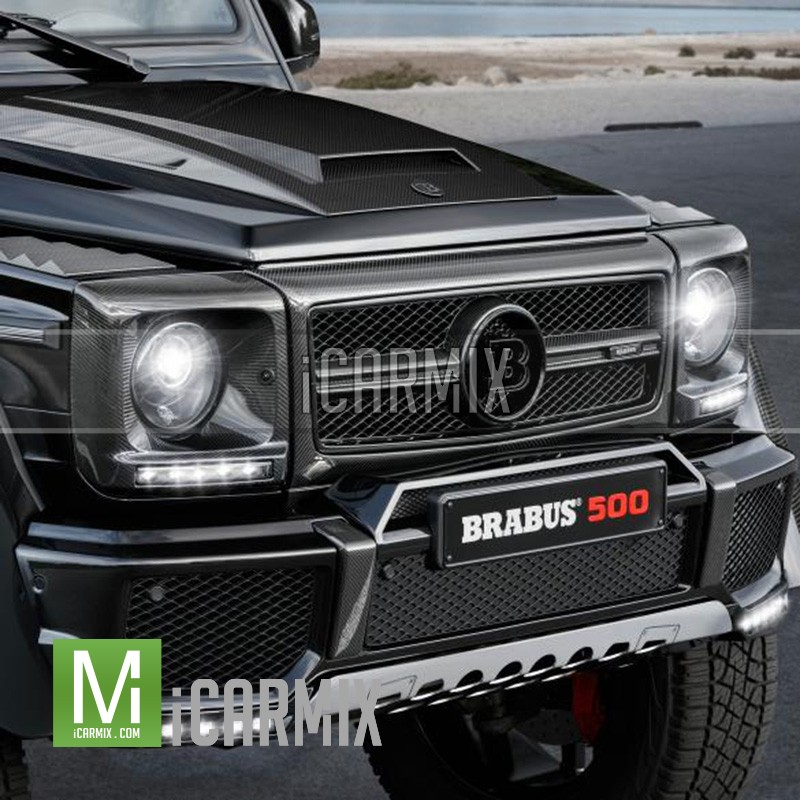 Brabus Mercedes Benz Gloss Carbon Front Grille G63 G65 AMG