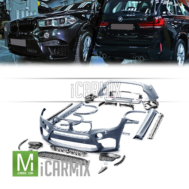 Oes Full Body Kit Set M Style For Bmw X5 F15 2013 2018 尾泵把