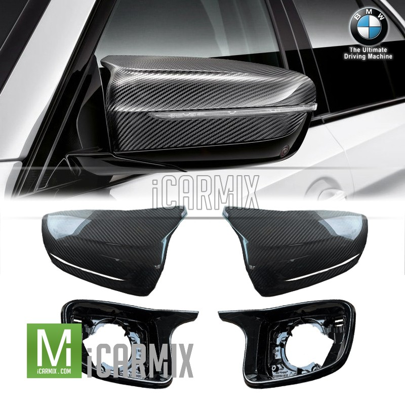 Genuine OEM Carbon Fibre M Performance Replacement Mirror Cover For BMW G30 F90 M5