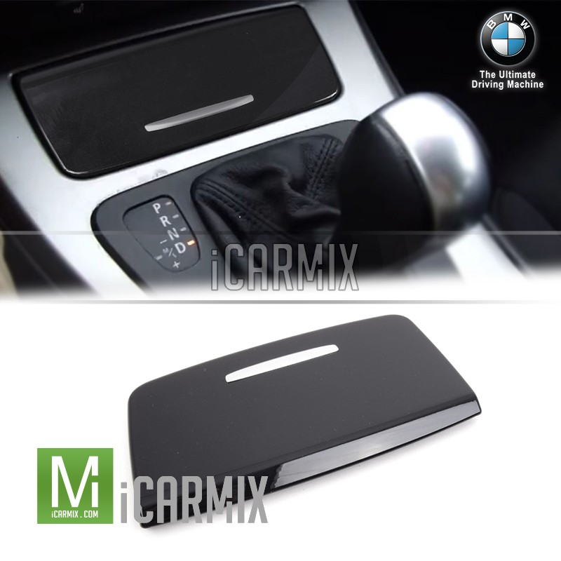 Genuine  BMW Console Cover For 3 Series E90 E91 - Gloss Black
