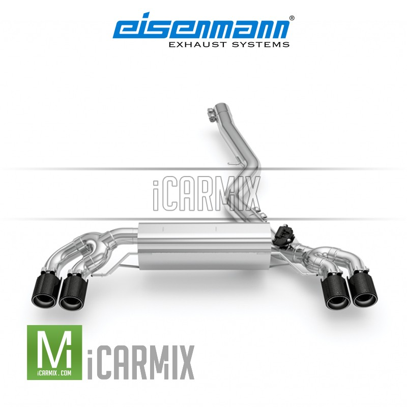 Eisenmann CAT-BACK Exhaust (oo----oo) For G20 320i 330i