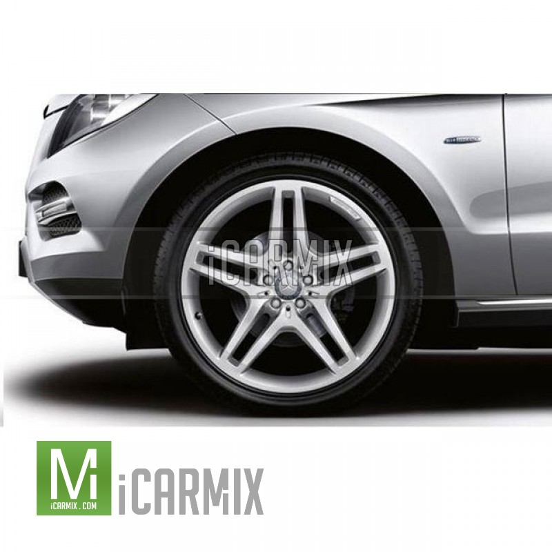 "Genuine 21"" Amg Alloy Front & Rear Wheel For Mercedes Benz M-Class W166"