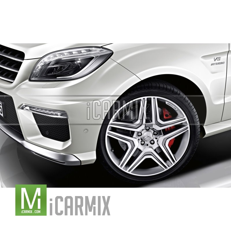 """Genuine 21"""" Amg Alloy Front & Rear Wheel For Mercedes Benz M-Class W166"""