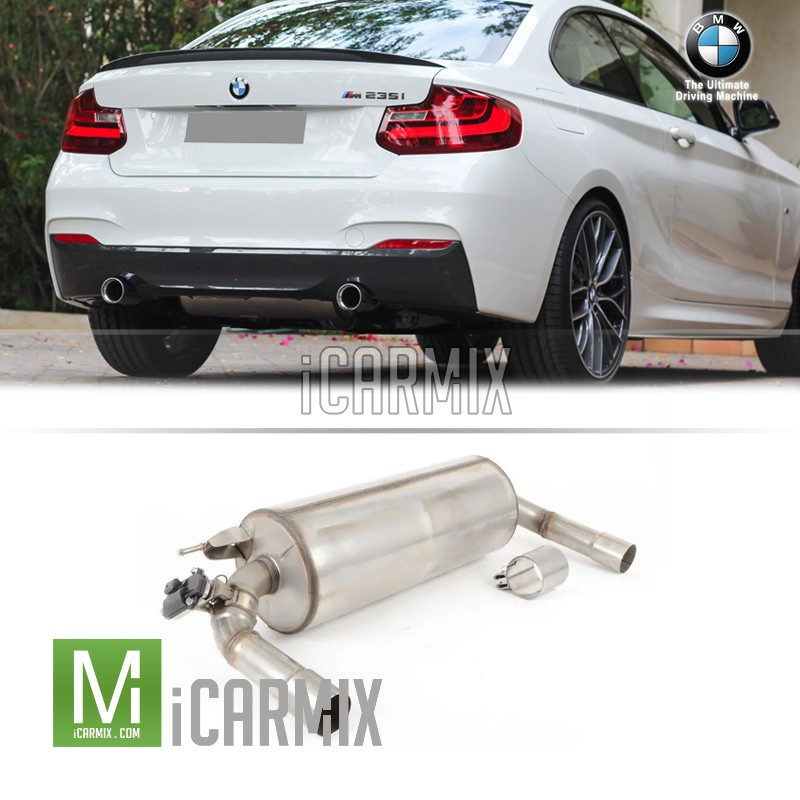 Genuine  BMW M Performance Rear Exhaust For F22 F23 M235i