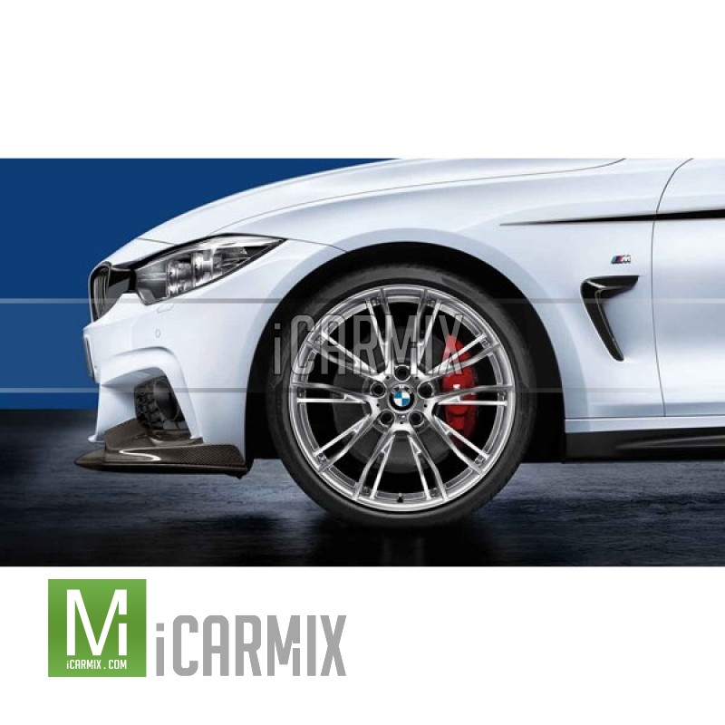 "GENUINE BMW M 20"" DOUBLE SPOKE 624 FRONT & REAR LIGHT ALLOY WHEEL FOR  F30 F31 F32 F33 F36"