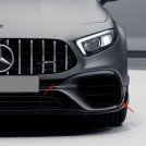 Genuine Mercedes Benz A45 Amg Aero Dynamic Front Flaps For A Class W177 - 2018-2019