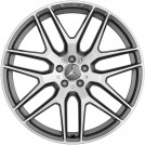 "Genuine 21"" Amg Front & Rear Wheel  For Mercedes Benz X166 W166"