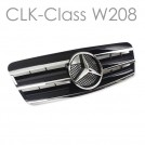 EURSPEC Front Grille For Mercedes-Benz CLK-Class W208