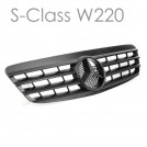 EURSPEC Front Grille For Mercedes-Benz S-Class W220 (2000-2002)