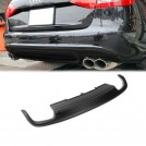 Rear Diffuser (00--00) S4 Style For Audi A4 B8 Sedan Facelift (2013-On)