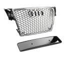 EURSPEC Front Grille RS Style For Audi A4 S4 B8 Pre Facelift 2008-2012