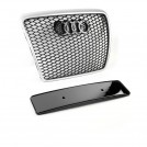 EURSPEC Front Grille RS Style For Audi A6 S6 C6 Pre & Facelift - 2005-2011