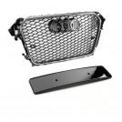 EURSPEC Front Grille RS Style For Audi A4 S4 B8 Facelift - 2013-2015