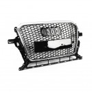 EURSPEC Front Grille RS Style For Audi Q5 SQ5 Facelift - 2013-2016