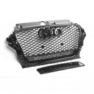 EURSPEC Front Grille W/ Quattro RS Style For Audi A3 S3 8V Pre-facelift (2013-2016)