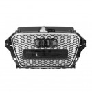 EURSPEC Front Grille RS Style For Audi A3 S3 8V Pre-facelift (2013-2016)