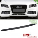 Carbon Fibre Add On Front Lip Type Rieger For Audi A4 B8/8K Pre - 2009-2012 (Install on Rieger Front Lip)