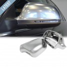 GRD Audi A3 S3 8P (08'-10') S-Line Style Mirror Cover - Matt Chrome (Lane Assist)