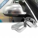 GRD Audi A5 S5 8T (07'-09') S-Line Style Mirror Cover - Matt Chrome (Lane Assist)