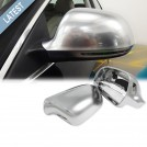 GRD Audi A6 S6 4F (08'-11') S-Line Style Mirror Cover - Matt Chrome (Lane Assist)