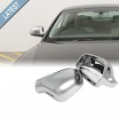 GRD Audi Q3 8U (12'-on) S-Line Style Mirror Cover - Matt Chrome (Lane Assist)
