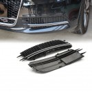 RS6 Style Honeycomb Front Bumper Fog Lamp Cover for Audi A6 C7 (12'~14')