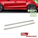OES Body Parts PP Side Skirt S3 Style For Audi A3 8V Sedan Pre  - 2013-2016 (Standard Bumper)