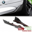 Genuine OEM M Performance Carbon Fibre Rocker Panel Cover / Rear Add on Side Skirt For BMW 2 Series F87 M2