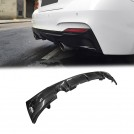 EURSPEC CARBON FIBRE REAR DIFFUSER TYPE E FOR BMW 2 SERIES F22 F23 2014-2017 (M-tech Bumper)