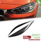 Carbon Fibre Eyelid For BMW 3 Series F30 F31 Pre & LCI - 2012-2017