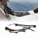 Carbon Fibre Eyelid For BMW 5 Series E60 E61 2003-2010 (STD/ MTEC/ M5)