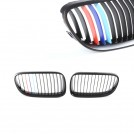 BMW 3 Series E92 E93 Lci 2010-2013 Tri-Color Front Grille - Matte Black
