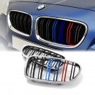 EURSPEC Dual Slats Tri-Color Front Grille For BMW 5 Series F10 F11 (2010-2016) & M5