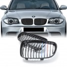 EURSPEC Tri-Color Front Grille For BMW 1 Series E81 E82 E87 E88 (2008-2013)