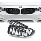EURSPEC BMW F32 F33 F36 F80 F82 M4 Style Front Grille - Gloss Black