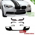 OES Body Parts MP Style Front Lip for BMW 1 Series F20 F21 Pre 2011-2015 (For M-Tech Bumper)