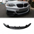 OES PP Front Lip M Performance Style For BMW 2 Series F22 F23 - 2014-2018 (M-Tech Bumper)