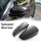 EURSPEC Carbon Fibre Replacement Mirror Cover For Bmw X5 E70 X6 E71 E72 Pre & Lci - 2007-2014