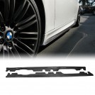 Carbon Fibre Add On Side Skirt For BMW 3 Series E92 E93 M3 - 2007-2013 (M3 Bumper)