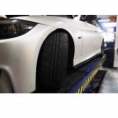 2006-2011 BMW E90 LCI 3 SERIES 1M SIDE SKIRT with PORTION ADD-ON CARBON FIBRE SKIRT