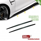 OES PP Side Skirt M Performance Style (Add On) For BMW 4 Series F32 F33 F36 Pre&Lci - 2014-2018 (M-tech Bumper)