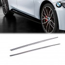 Genuine OEM BMW M Performance Add On Side Skirt Rocker Panel For 3 Series F30 F31 Pre&Lci - 2011-2018 (For M-tech Bumper)
