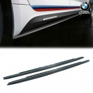 Genuine BMW M Performance Carbon Fibre Side Skirt Add On Unter Plate For  5 Series G30 G31 F90 M5 2015-2019