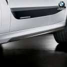 Genuine BMW M Performance Carbon Fibre Side Skirt Add On Unter Plate For G06 X6 2018-2020