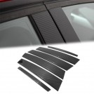 Eurspec Dry Carbon Fibre B Pillar Set For BMW 3 Series F30 Sedan