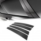 Eurspec Dry Carbon Fibre B Pillar Set For BMW 5 Series F10 Sedan