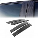 Eurspec Dry Carbon Fibre B Pillar Set For Porsche Panamera - 2014-2017 [4PCS]