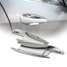 Chrome Door Handle Bowl Shell Cover For Mercedes Benz W212