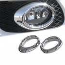 Chrome Fog Light Trim Cover For Mercedes Benz W164 (2005-2008) - Oval Shape