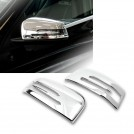 Chrome Side Mirror Cover Trim For Mercedes Benz W166 X166 W463 W251